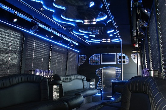 Los Angeles party bus